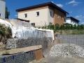 Návrh opěrné zdi z gabionů Liberec