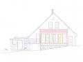 Přístavba chaty - Černá Studnice